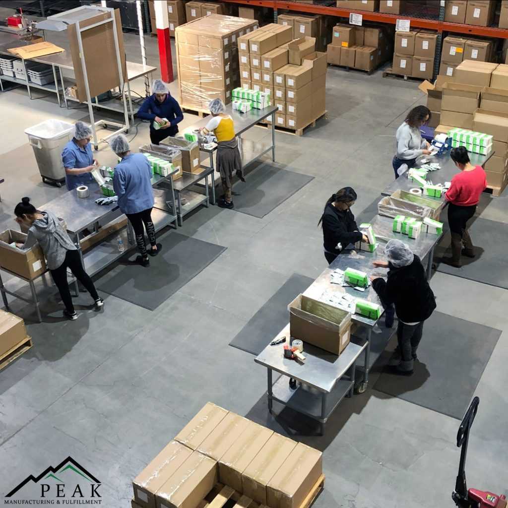 Assembly Kitting Manufacturing Fulfillment